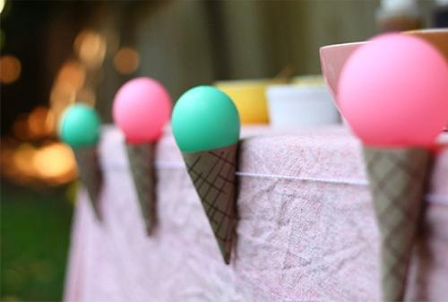 Manualidad para decorar una mesa de fiesta