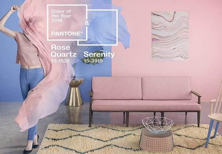 Rosa Cuarzo y Azul Serenidad. Colores pantone 2016